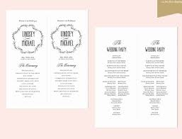 wedding party program templates free wedding programs templates capriartfilmfestival