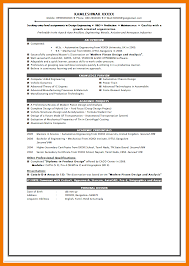 6 Fresher Resume Format Simple Invoice Template Download Bsc It