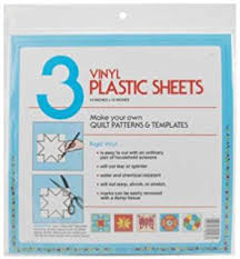 Amazon.com: Wrights 670053 Extra Thick Plastic Quilt Template & Quilter's Plastic Template 12x12