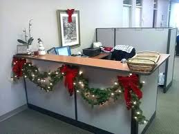 Office decoration christmas Award Winning Christmas Office Decorations Office Decoration String Of Lights With Garlands For Office Reception Decoration Office Decorations Christmas Office Hide Away Computer Desk Anyguideinfo Christmas Office Decorations Office Decorations For Office Cubicle