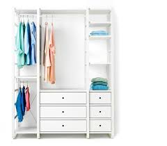 Ikea closet systems with doors Bedroom Elvarli Is One Of The Most Versatile Ikea Open Clothes And Shoe Storage Systems Assemble Ikea Open Wardrobe Systems Open Storage Systems Ikea
