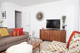 contemporary media console furniture. view in gallery media console with midcentury style contemporary furniture