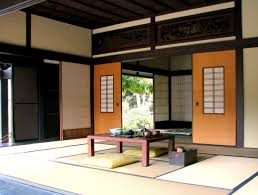 Japanese Style Living Room Japanese Style Living Room Glas Door In The Nearby Beside Balcony