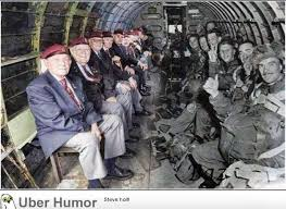 D Day Quotes Fascinating DDay Veterans Sitting Across From Themselves In The Same Plane