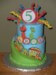 Dinosaur Train Birthday Cakecentralcom