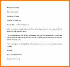 Sample Notice Letters 12 2 Weeks Notice Sample Letters Richard Wood Sop