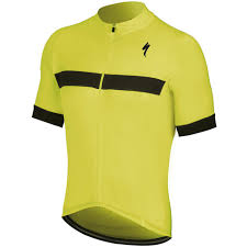 Specialized Clothing Size Chart Specialized Rbx Sport 2019 Jersey Yellow Black