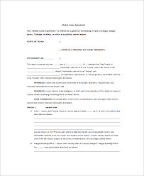 Commercial Truck Lease Agreement Mesmerizing 48 Sample Commercial Truck Lease Agreements PDF Word Pages