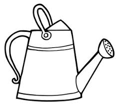 can clipart black and white. watering can clip art free clipart images 7 black and white i