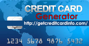 Card With Numbers Details Generate Credit Valid Fake ZwCOEnqgx