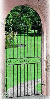 marlborough arched metal side gate