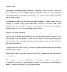 Communication Cover Letter Digital Marketing Assistant Cover Letter Communications Assistant