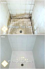 regrout a shower tiles floor cost to tile how to tile plus cleaning years of soap