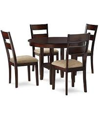 branton 5 piece dining room furniture set