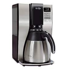 office coffee machine. Plain Machine Mr Coffee Optimal Brew 10Cup Thermal Coffeemaker System BVMCPSTX91RB Throughout Office Machine E