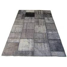 overdyed patchwork rug 2255