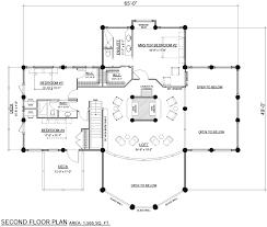 log home plan streamline design ltd