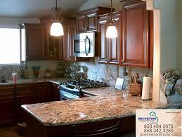 cherry cabinets with granite countertopzeus