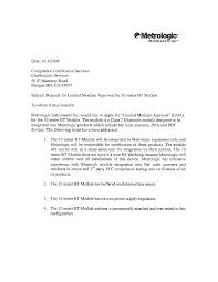 Bt010m 10 Meter Bt Module Cover Letter Cover Letter Honeywell