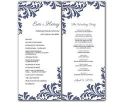 Microsoft Wedding Program Templates Microsoft Office Wedding Program Templates Wedding Program Template