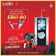 Máy lọc nước Karofi ero80 8 cấp có tủ IQ cao cấp GIẢM GIÁ 35%