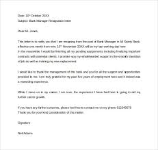 Management Resignation Letter Formal Resignation Letter 40 Download Free Documents In Word Pdf