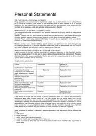 schools  high schools and personal statements on pinterestthis is appropriate resume personal statement examples