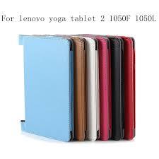whole yoga tablet 2 1050f case luxury pu leather cover for lenovo yoga tablet 2 10 1050f 1050l cover case 8 inch tablet cases tablet case 10 inch from