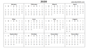 2020 Calendar Wallpapers Top Free 2020 Calendar