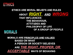 socio cultural values ethos in social harmony an   values as guiding principles 7 ethics ethics are moral