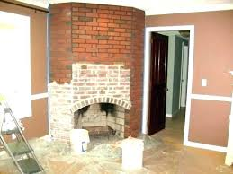 refacing brick fireplace with stone veneer reface cost to nice design featuring wall mount