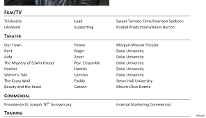 modeling resume template beginners smart ideas resume for beginners 14 sample actor content writer