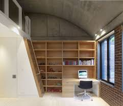 study office design ideas. Luxurious Idea Of Small Office Design With Wooden Racks Also Study Table Plus Drawers Simple Chair Ladder Stainless Steel Rail Ideas N