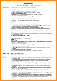 12 13 Training And Development Resume Samples Lascazuelasphilly Com