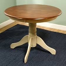 36 inch round dining table lovely dallas ranch solid wood pedestal round dining table w extension