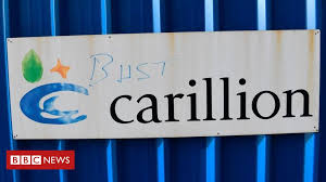 Carillion Stock Chart Carillion The Signals That The Company Was Going Bust Bbc