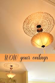 ceiling ceiling fan trim ring two piece ceiling medallion