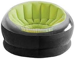 intex inflatable furniture. Intex Inflatable Air PVC Empire Chair, Multi Color Furniture