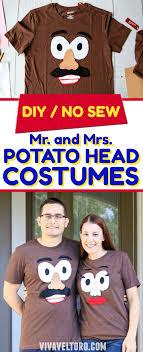 mr and mrs potato head costume