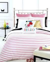spade comforter set queen fresh harbour stripe shocking pink full kate costco fu