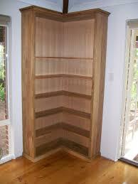 wooden corner shelves furniture. Modren Furniture Double Sided Wood Corner Bookcase Design Decofurnish With Wooden Shelves Furniture T