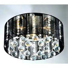black crystal lamp chandelier