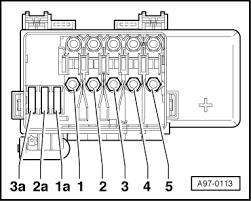 audi workshop manuals > a mk > vehicle electrics > electrical a97 0113