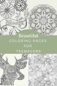 Why is color stress good for brain development? Coloring Pages For Teenagers Skip To My Lou