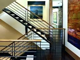Metal railing stairs Homemade Iron Stair Handrail Metal Handrails For Stairs Interior Metal Railing For Steps Stunning Interior Metal Stair Nukezone Iron Stair Handrail Instaarticalsinfo