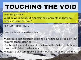 touching the void essay touching the void gcse miscellaneous  college essays college application essays touching the void essay touching the void essay