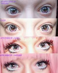 cosplay happy anime eyes with geo cpa 6 anime lenses
