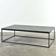 bluestone coffee table bluestone coffee table pottery barn delphine bluestone metal