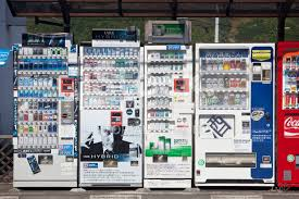Cigarette Vending Machines Illegal Enchanting Cigarette And Beeralcohol Vending Machines IN Japan Stock Photos