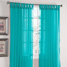 scenario sheer voile tab top panels sheer curtains brylanehome
